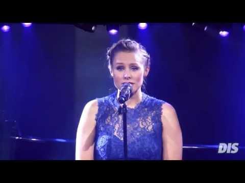 Amerikanska skådespelerskorna som gjorde Anna sjunger live